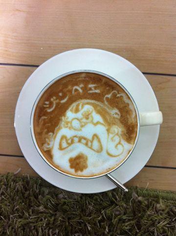 コーヒーアート029(拡大表示)