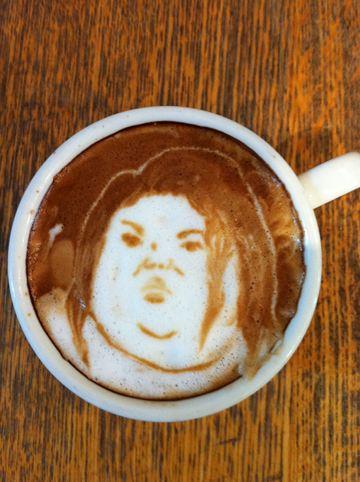 コーヒーアート032(拡大表示)