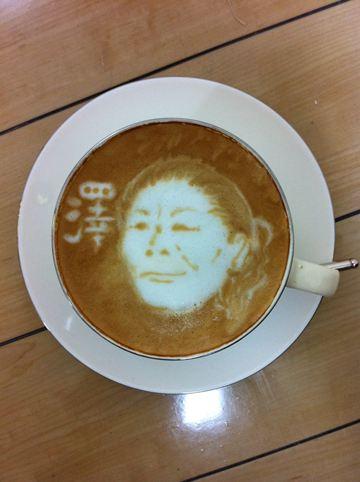 コーヒーアート033(拡大表示)
