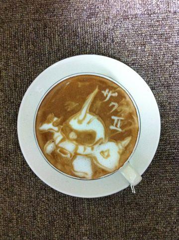 コーヒーアート043(拡大表示)
