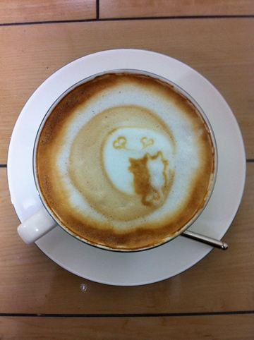 コーヒーアート010(拡大表示)