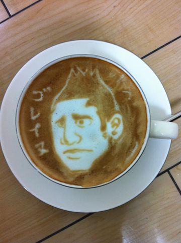 コーヒーアート031(拡大表示)