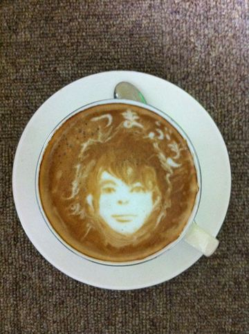 コーヒーアート042(拡大表示)