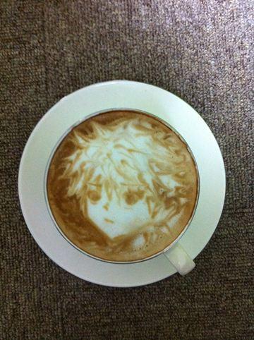 コーヒーアート046(拡大表示)