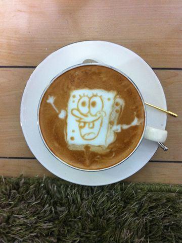 コーヒーアート030(拡大表示)