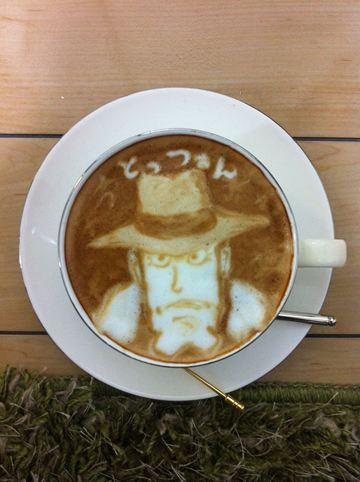 コーヒーアート021(拡大表示)