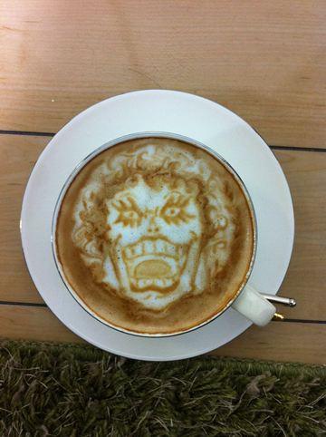 コーヒーアート028(拡大表示)
