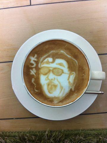 コーヒーアート037(拡大表示)