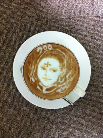 コーヒーアート045(拡大表示)