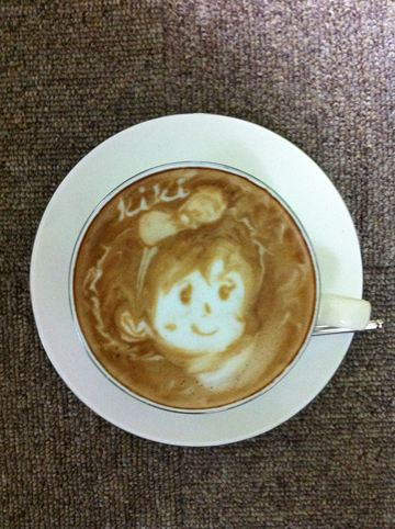 コーヒーアート049(拡大表示)