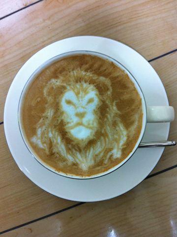 コーヒーアート005(拡大表示)