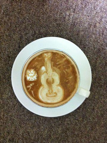 コーヒーアート038(拡大表示)