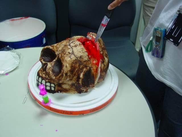 超黒いケーキ2(拡大表示)