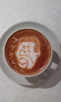 コーヒーアート001(拡大表示)