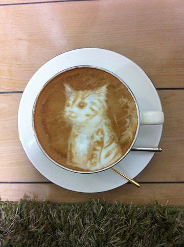 コーヒーアート008(拡大表示)