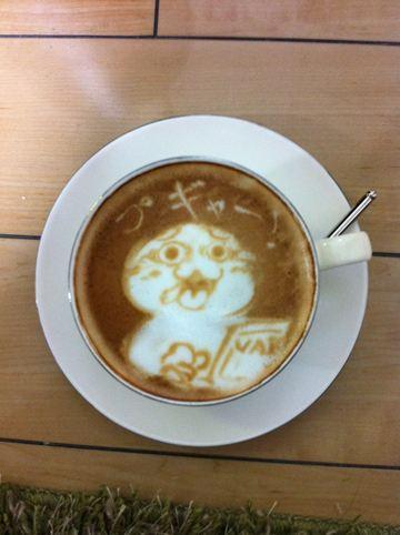 コーヒーアート004(拡大表示)