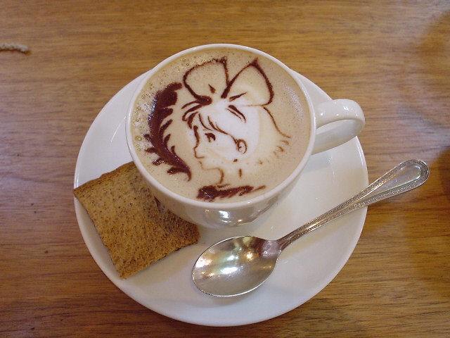 コーヒーアート048(拡大表示)