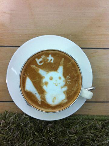 コーヒーアート017(拡大表示)