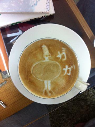 コーヒーアート035(拡大表示)
