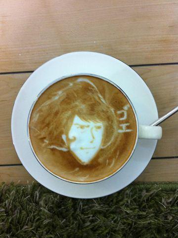 コーヒーアート020(拡大表示)