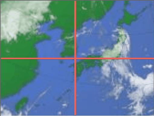 朝鮮半島が中心(拡大表示)