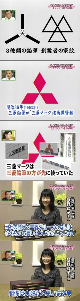三菱グループのマーク(拡大表示)