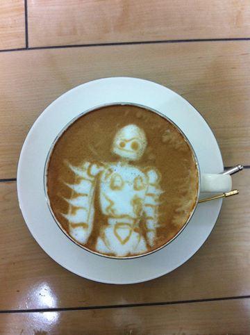 コーヒーアート023(拡大表示)