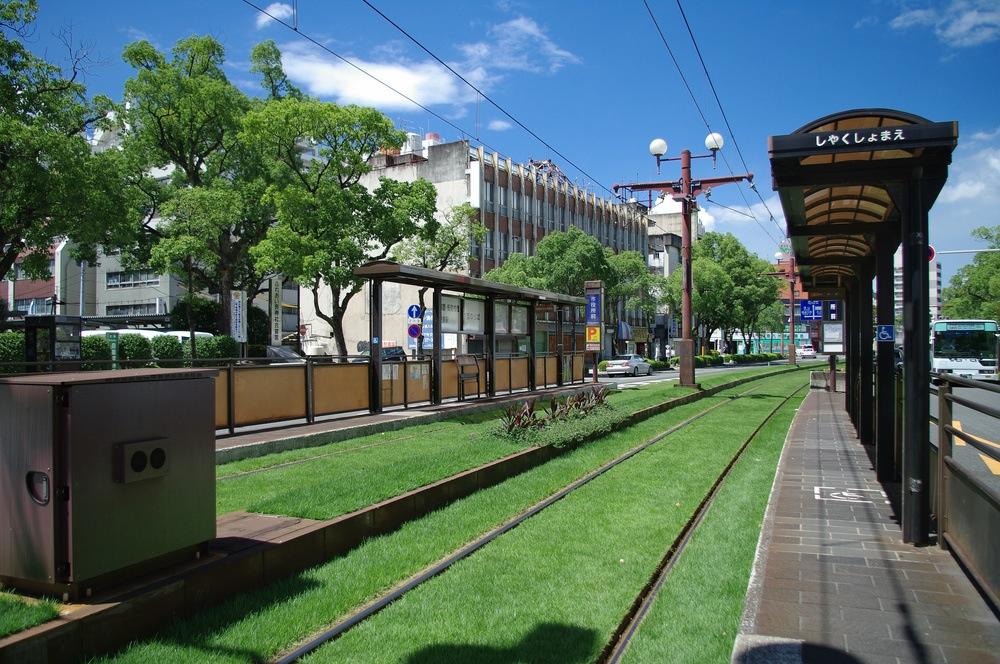 鹿児島の路面電車(拡大表示)