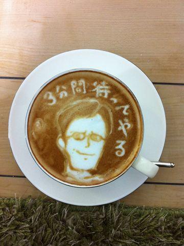 コーヒーアート026(拡大表示)