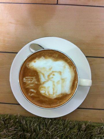コーヒーアート007(拡大表示)