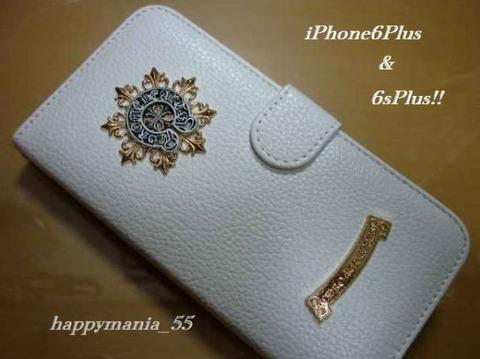 クロムハーツタイプ iPhoneケース