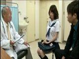 敏感すぎてゴメンナサイ!妊娠検査に来たJKが産婦人科医の「治療」と称した媚薬、電流責めで痙攣絶頂!生姦中出し! パート3