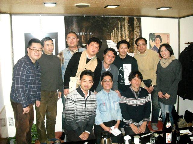 20121230筑紫丘高校新聞部OB会総会懇親会