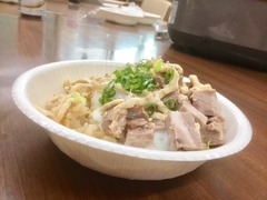 ツナマヨ温玉チャーシュー丼