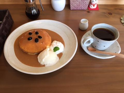 きなこパンケーキ