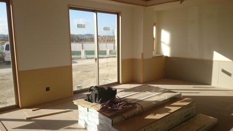 共同生活室窓