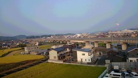 最屋上から見る街並み