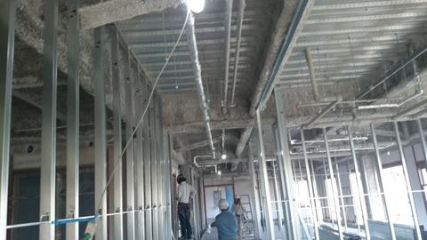 1階廊下天井