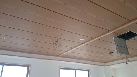 共同生活室天井