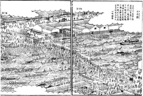 日本橋 江戸名所図会