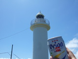 灯台とビール