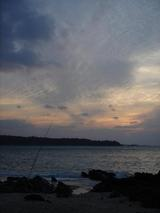 571_夕暮れ後の沖縄