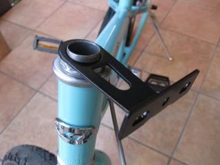 自転車の 自転車のカゴ取り付け : . : 自転車用のカゴ の取り付け ...