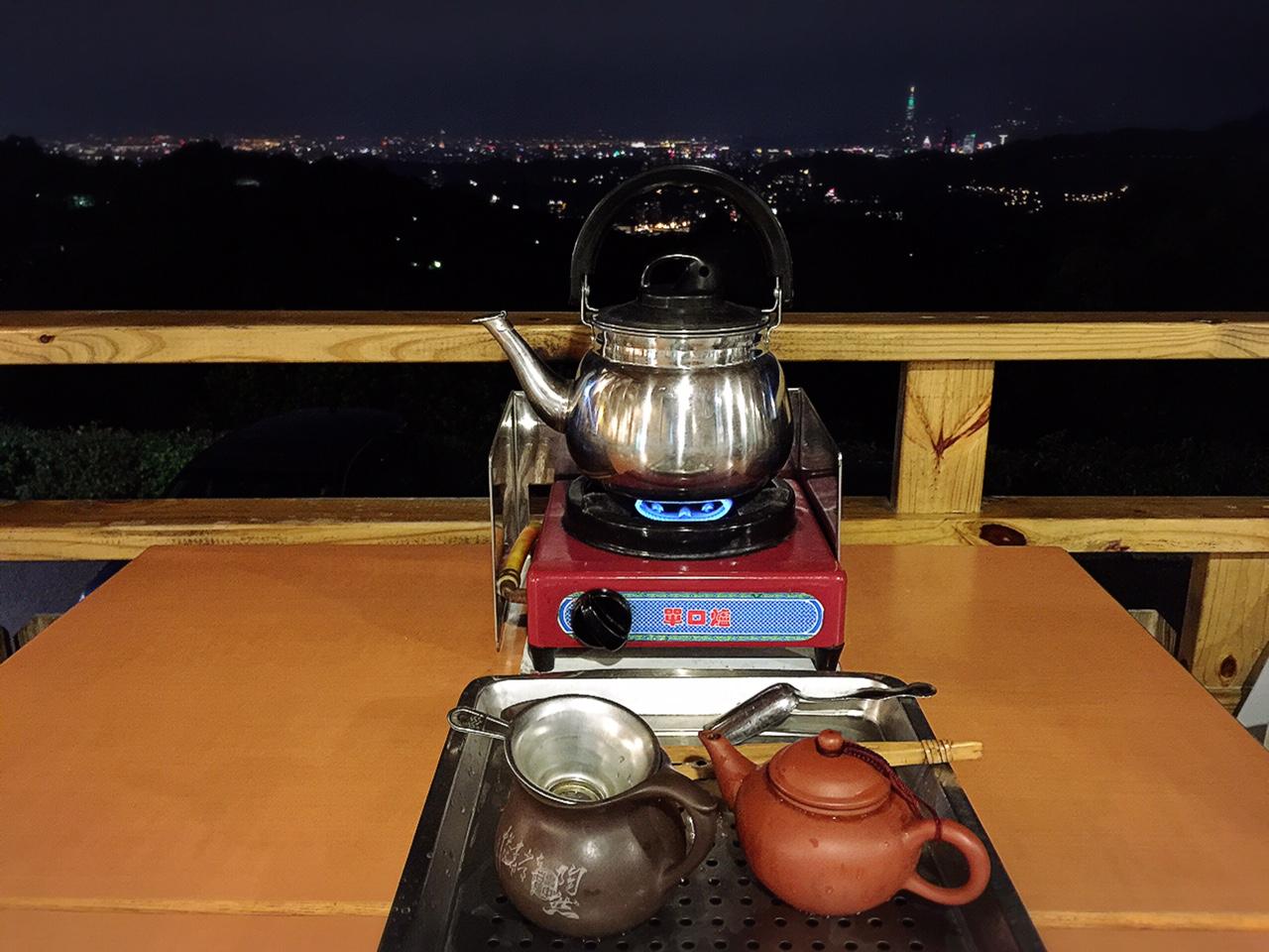 にーはお!たいわん  Ciel的台灣生活誌  5万ドルの夜景を見に猫空へ