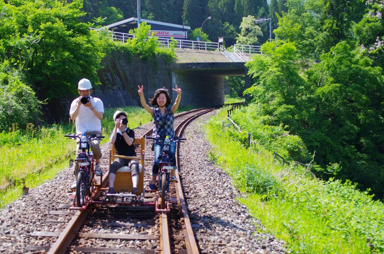 自転車の 神岡 自転車 線路 : それは線路を自転車を駆動力と ...