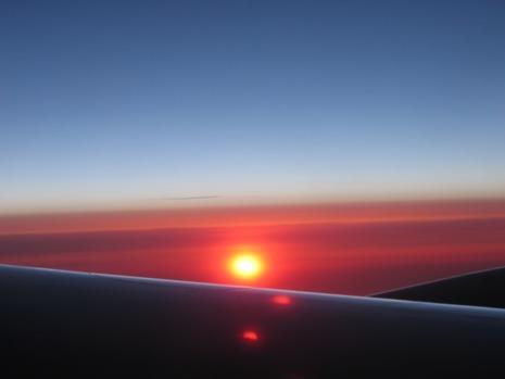 0528 イタリア旅行 飛行機から2