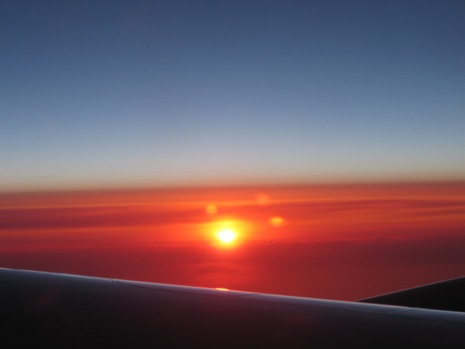 0528 イタリア旅行 飛行機から3