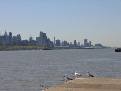 ハドソン川散歩1