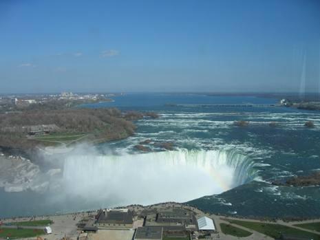 ホテルからカナダ滝
