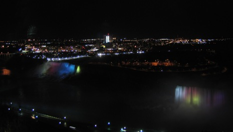 ナイアガラ夜景4